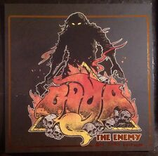 Goya THE ENEMY DIE HARD Vinyl LP w/PIN & Banner DOOM STONER METAL STB