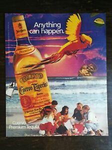 Vintage 1983 Jose Cuervo Especial Premium Tequila Full Page Original Ad - 721b