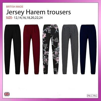 Women Work Office Straight Elasticated Herringbone Trousers Pants Plus Size14-24