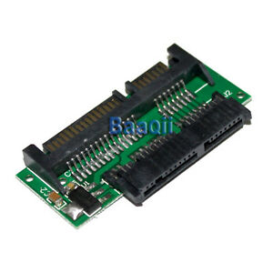 "1.8/"" 7+9 16pin Micro SATA to 2.5/"" 22pin SATA Card Converter Adapter 5V 3.3V TW"