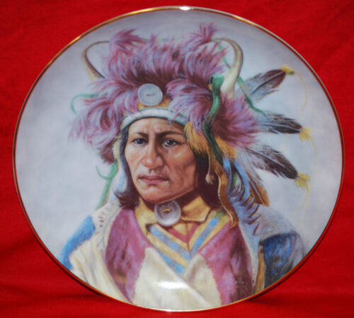 """Dignity of the Nez Perce"" 1991 Indian Artaffects Plate"