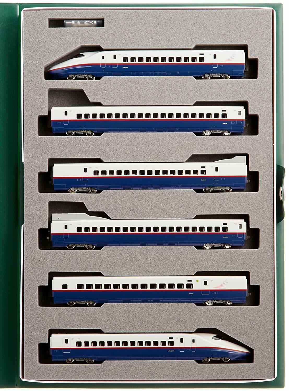 Kato N Scale Shinkansen Asama 10-377 E2 Calibre N 6 Coche Set Tren Modelo de juguete