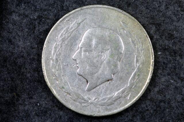 1953 - Hidalgo 5 Pesos Silver Coin From Mexico!!!  #H5727