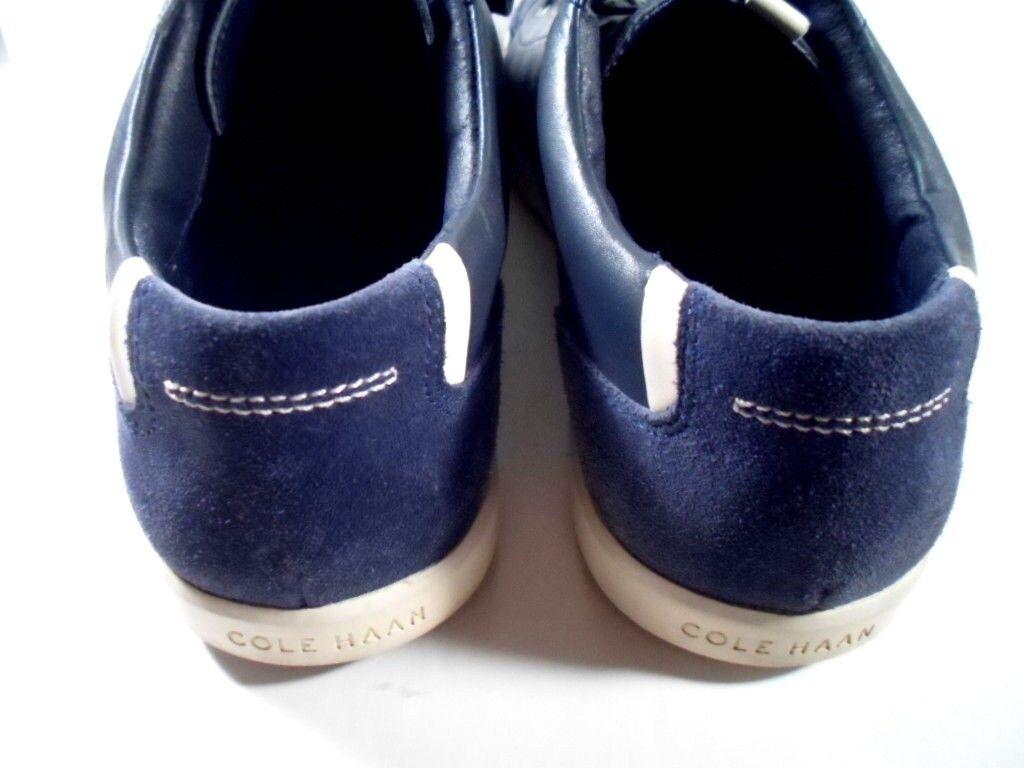 Cole Cole Cole Haan C13899 Grand OS Owen Sport Ox blu bianca scarpe da ginnastica Casual scarpe Sz 10.5 5e1287