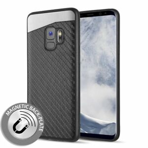 official photos 71547 16670 Details about Samsung Galaxy S9 Plus - Magnetic Back-Plate Carbon Fiber TPU  Rubber Case Cover