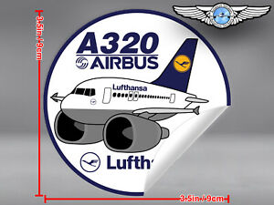 LUFTHANSA-PUDGY-AIRBUS-A320-A-320-IN-OLD-LIVERY-DECAL-STICKER
