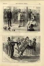 1876 Philadelphia ESPOSIZIONE Scarpa NERI Wrexham ART Treasure aperto