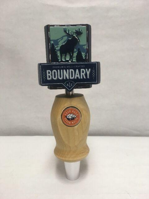 Beer Tap Handle Moosehead Boundary Ale NEW IN BOX