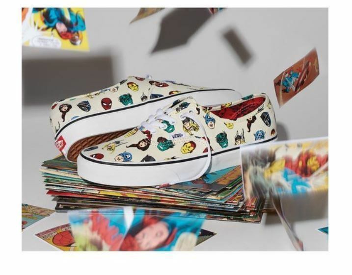 Mens Vans Authentic x Marvel Heads Multi Farbe Farbe Farbe Fashion Turnschuhe,schuhe 1d607b
