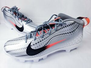 5c3f8114ac5fa Nike Force Zoom Trout 5 856 Mid Baseball Cleat Men s Size 14 AH3376 ...