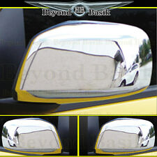 Fits 2005-2012 NISSAN PATHFINDER Chrome Mirror Covers Overlays Trims 2pc L/R
