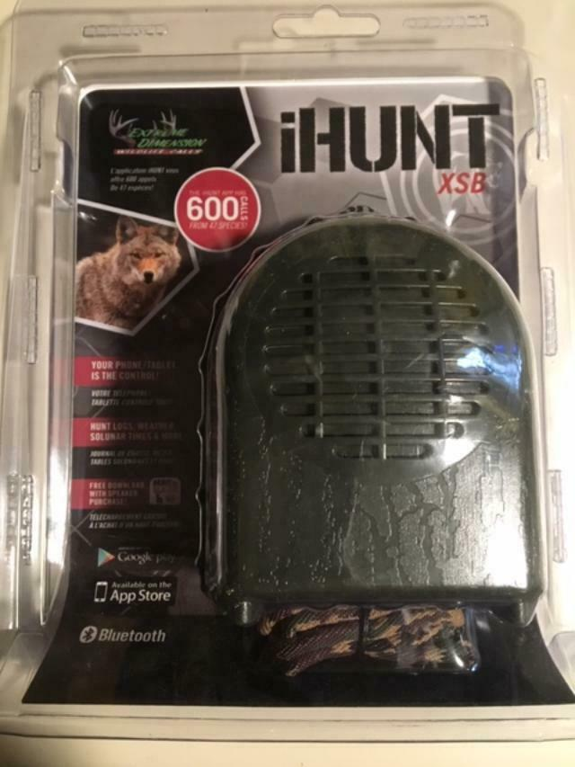 IHunt XSB blueetooth Game Call By Extreme Dimension Wildlife Predator Call