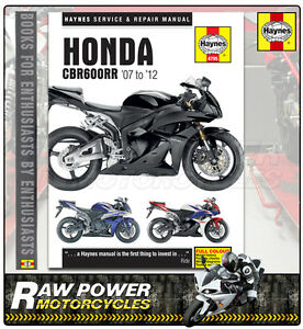 honda cbr600 rr 8 599cc 2008 haynes manual 4795 ebay rh ebay co uk 2008 honda cbr600rr manual pdf 2007 cbr600rr manual