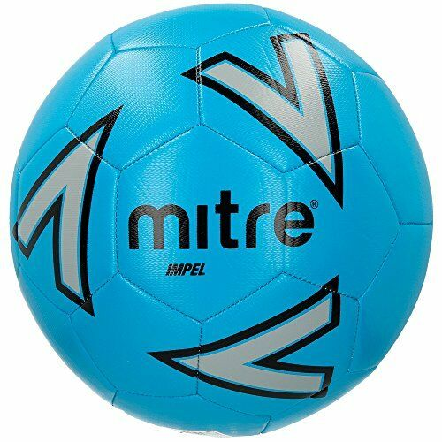 Size 4 Without Ball Pump Blue Mitre Impel Training Football