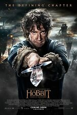 The Hobbit The Battle Of The Five Armies DOUBLE SIDED ORIGINAL FINAL Poster