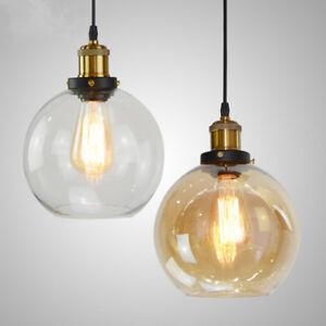 Kitchen Pendant Light Bedroom Lamp Modern Ceiling Lights Glass - Kitchen pendant lighting ebay