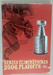 NHL-MONTREAL-CANADIENS-2006-SEASON-TICKET-PLAYOFF-FOLDER