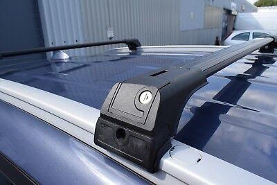 VW AMAROK onwards 2010 ANTI THEFT ALUMINIUM CROSS BAR RACK 75 KG CAPACITY
