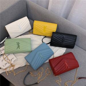 Women-Handbag-Leather-Satchel-Shoulder-Bag-Hobo-Tote-Messenger-Crossbody-Purse