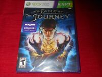 Fable: The Journey Xbox 360 Kinect Factory Sealed Fast Free Shipping Cl