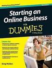 Starting an Online Business for Dummies by Greg Holden (Hardback, 2015)
