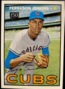 2019 Fergie Jenkins /150 Topps Update Iconic Card Reprints 150th Cubs Ferguson