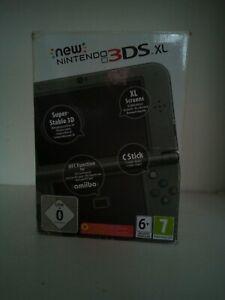 Nintendo 3DS XL 4Go - Noir Métallique + Jeux dématérialisé et Matérialisée