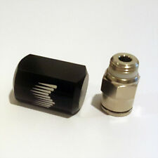 Snow Performance 1//8in NPT to 1//4in Quick-Connect Low Profile Water-Methanol Straight Nozzle Holder