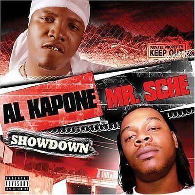 AL KAPONE & MR. SCHE SHOWDOWN (2004) OG RELEASE ALKATRAZ RIDAZ IMMORTAL TIGHT CD