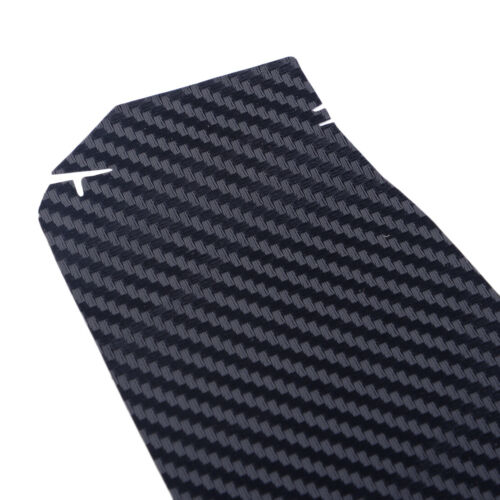 2X Car 3D Interior Sticker Carbon Fiber Dashboard Trim fit for Tesla Model 3