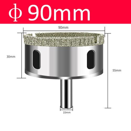 3-200mm Diamond Drill Bit Hole Saw Cutter Tool For Glass Marble Ceramics Granite