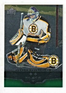 2005-06-EMERALD-Andrew-Raycroft-88-UPPER-DECK-ROOKIE-GEMS-14-25-Only-25-SP-RARE