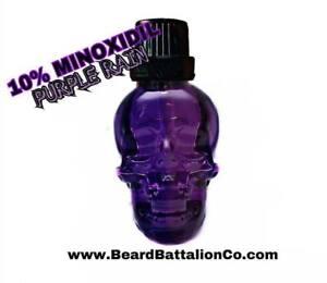 Details about Beard Battalion PURPLE RAIN-10% Minoxidil Beard Oil-BEARD  GROWTH!-FAST SHIPPING!