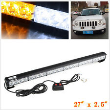 "27"" 24 LED SUV Pickup 4X4 Traffic Advisor Emergency Hazard Warning Strobe Light"
