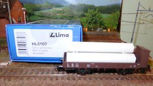 LIMA-HL6107-CARRO-pianale-TRASPORTO-TUBI-a-2-assi