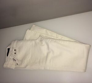 Jeans Womens Skinny Sz White Regular 24 Wash Crew J wCqgpax