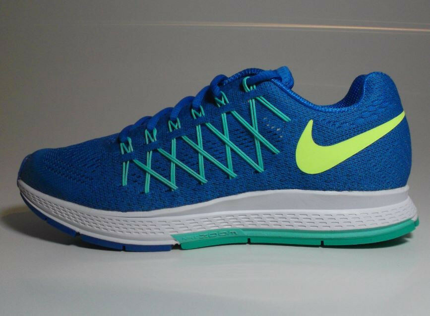 Nike Air Zoom 39 Pegasus WMNS ID Gr 39 Zoom brave Blau ocean green volt 818022 991 667d17