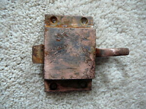 Image Is Loading Antique Cast Iron Finger Pull Door Cabinet Latch