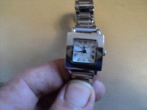 AURIOL Donna Tank forma orologio al quarzo, ottime condizioni & LAVORO BELLE