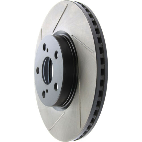 Disc Brake Rotor-Sport Slotted Brake Disc Front Right Stoptech 126.44160SR