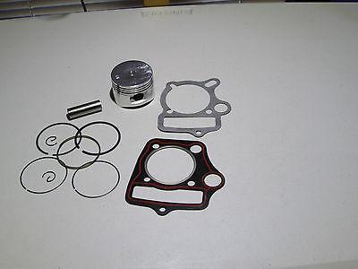 Kazuma Taotao Sunl Coolster Roketa BMS SSR 110cc 125cc Piston Rings Gasket Set 52.4mm Bore