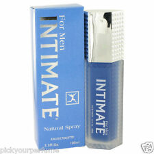 Intimate Blue 3.4 oz Eau De Toilette Spray by Jean Philippe for Men