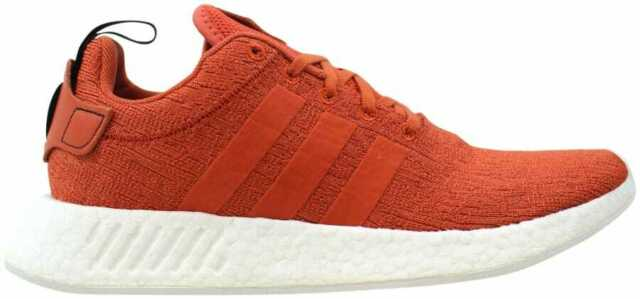 new products 77795 7d41b Mens adidas NMD R2 Future Harvest Burnt Orange White By9915 US 8