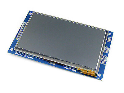 7inch Capacitive Touch LCD (C)  800*480 Multicolor Graphic TFT LCD Module