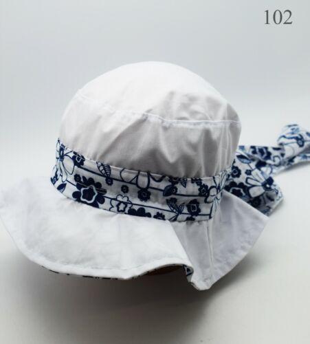 Girls Bonnet Toddler Summer Hat Sun Protection Cap Beach Bonnet Hat
