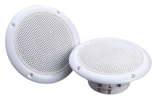 "e-Audio Marine Deckenlautsprecher Küche Lautsprecher 13cm 5/"" Badezimmer B303A"