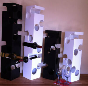 WeiVa-Design-Weinregal-Cubo-12-Flaschenregal-Wein-Vinothek-Hoehe-89-cm