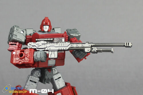 Matrix Workshop M-04 Weapon Upgrade Kit For SIEGE Deluxe Ironhide Transformation