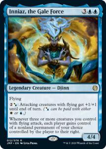 Inniaz-the-Gale-Force-x4-Magic-the-Gathering-4x-Jumpstart-mtg-card-lot
