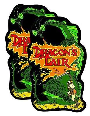 Dragon's Lair Side Art Arcade Artwork | eBay